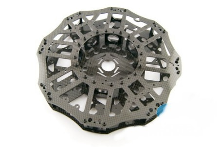 Suitable for 8 axis vehicle wheelbase for 700-1000mm 3 k carbon